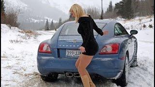Приколы на дороге! ДТП Авто приколы! Бабы за рулем  Fun on the road! Auto accidents fun!