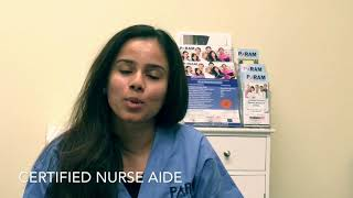Certified Nurse Aide Student