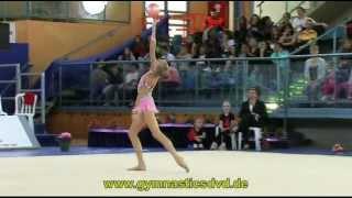preview picture of video 'Grand-Prix Holon 2013 - Senior - 01 - Yana Kudryavceva - Ball'
