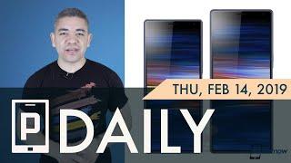 Sony Xperia 10 Leaks, LG G8 ThinQ Speaker on Display?