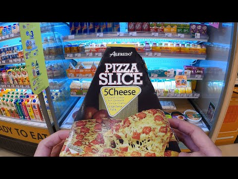 Eating All Meals at a 7-Eleven in Singapore
