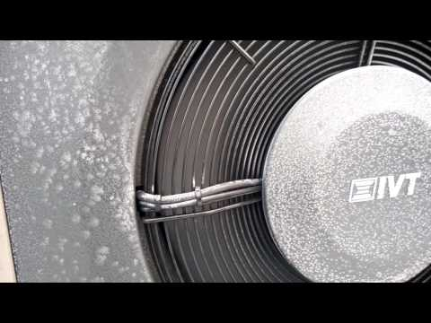 Ukázka funkčnosti vzduchového tepleného čerpadla IVT AIR X 90 v teplotě -15,5 °C
