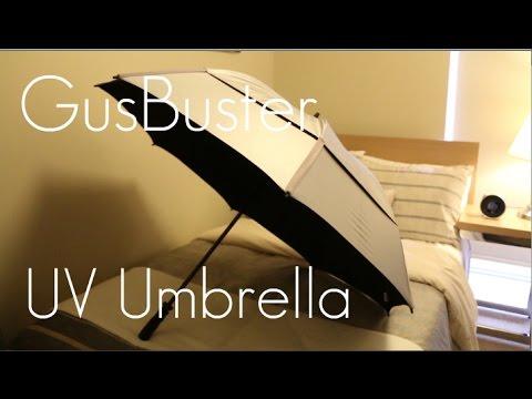 Rain and UV Protection! - Gustbuster Golf Umbrella UV Edition - Review