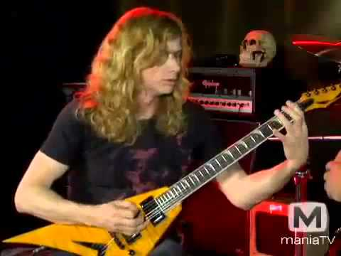 Dave Mustaine: If You Hear This Guitar Technique in Any Metallica ...