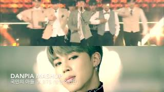 [MASHUP] 국민의 아들 X BTS - NEVER X Blood sweat and tears ( 피 땀 눈물)