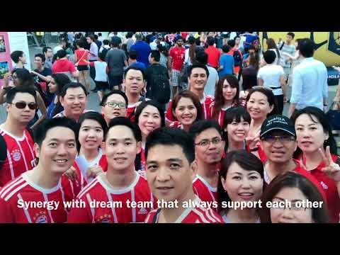 Cristine Liman Watched Bayern Muenchen vs Chelsea LIVE