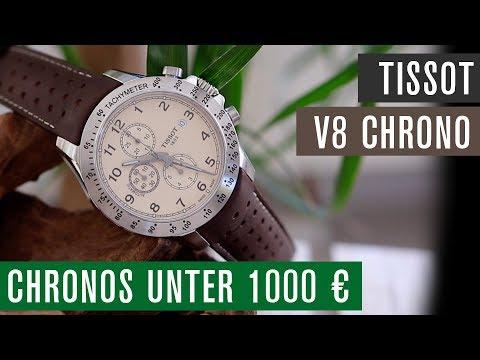 Chronographen unter 1000 €: Tissot V8 Chrono mit ETA C01.211 Werk