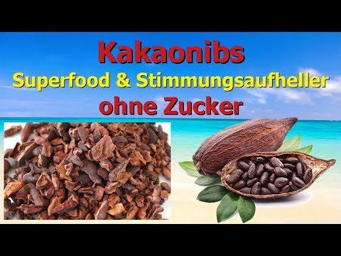Kakaonibs - Superfood und Stimmungsaufheller ohne Zucker