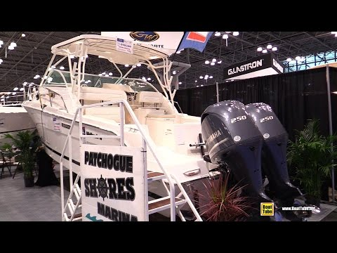 2015 Wellcraft 290 Coastal Fishing Motor Boat – Walkaround – 2015 New York Boat Show