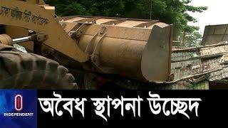 মোহাম্মদপুরে ঢাকা উত্তর সিটি কর্পোরেশনের অভিযান || DNCC Mission