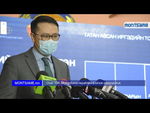 Over 10K Mongolians repatriated since coronavirus