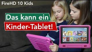 Kinder-Tablet | Amazon Fire HD 10 Kids Edition | Das kann das Tablet | Test | deutsch