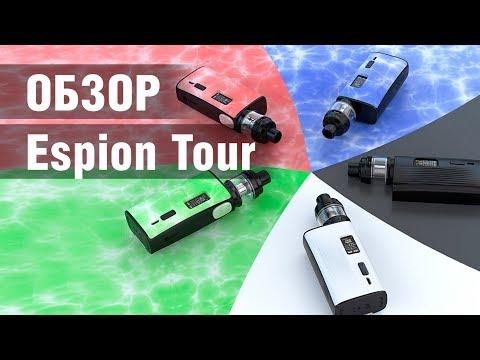 Батарейный мод Joyetech Espion Tour (220W, без аккумуляторов) - видео 1