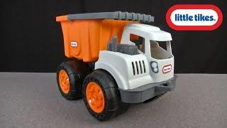 Didelis oranžinis sunkvežimis savivartis 2in1 | Dirt Diggers | Little Tikes 632839M