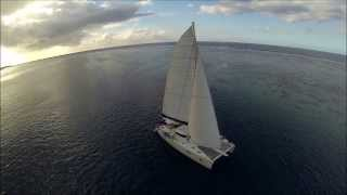 preview picture of video 'Fam trip e-Tahiti Travel - Dream Yacht Charter - Moorea'
