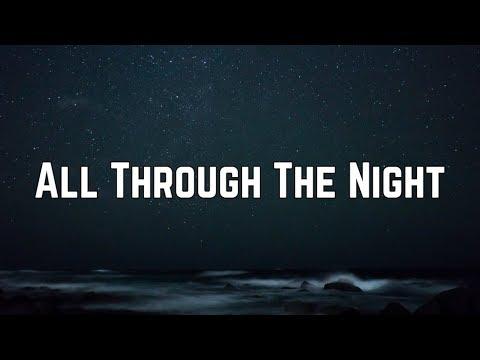 Cyndi Lauper - All Through The Night (Lyrics)