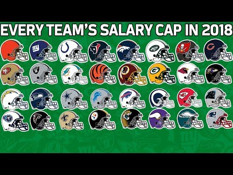 Every Team's Salary Cap in 2018 from Most to Least   NFL Highlights