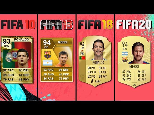 FIFA 09 - FIFA 20 TOP 10 Player Ratings in Ultimate Team!