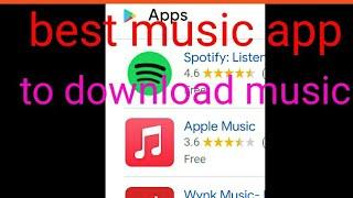 Best app to download music