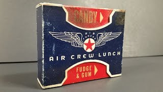 1944 US Army Air Force Air Crew Lunch MRE Review Pilot Ration Vintage Meal Ready to Eat Taste Test