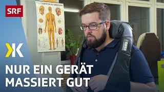 Nur eines von acht Massagegeräten wirkt im Test gut | 2019 | SRF Kassensturz