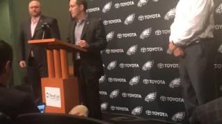 Eagles explain drafting Sidney Jones