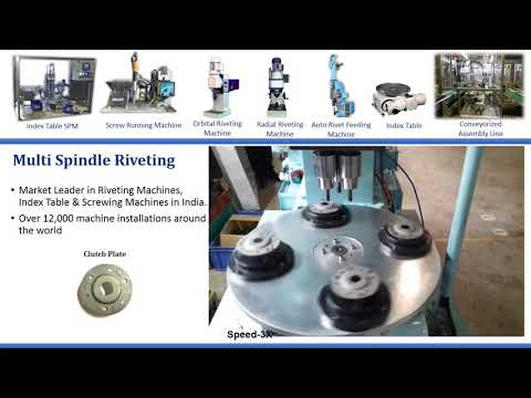 Multi Point Riveting Machine