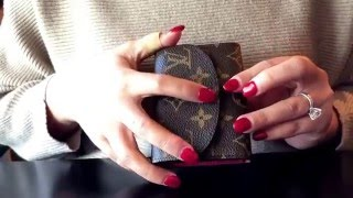 Louis vuitton empreinte business card holder inside pochette eva lv rosalie reviewcomparison to lv business card holder mono empreinte pricedimension reheart Image collections