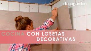 Revestir La Pared De La Cocina Con Losetas Decorativas - Decogarden