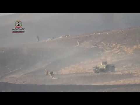 بالفيديو.. فرار جماعي لميلشيا الحوثي في مأرب