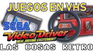 SEGA Video Driver 🚗 VIDEOJUEGOS en VHS | Consolas fracasadas