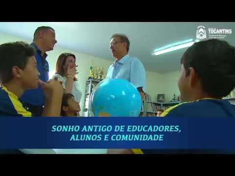 Reforma e ampliação da Escola Estadual Paulina Câmara, em Barrolândia-TO
