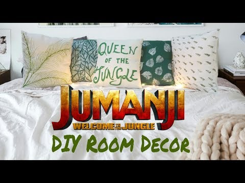 Jumanji Welcome to the Jungle - Themed fabric art