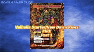 Fu Xi Starter + New Dawn Rises Fire Spoilers Part 1 (Force of Will TCG)