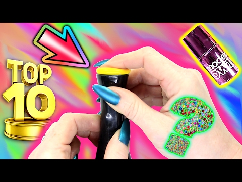 TOP 10 ULTIMATE STAMPING HACKS! HOW TO STAMP NAILS PERFECTLY NAIL ART TUTORIAL!!