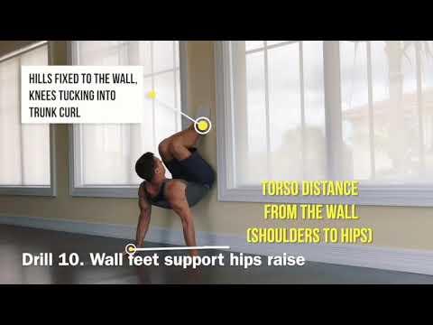 Online training   aerobic gymnastics   bodyweight skills