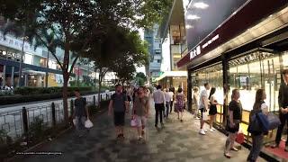 "2015-Jun-9 【香港行街】九龍彌敦道 ""特別黃昏版""【Hong Kong Walk Tour】Nathan Road in a weekday evening 6:30 pm"