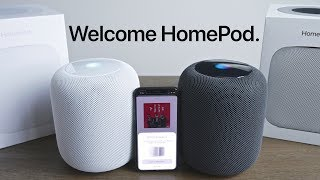 Apple HomePod Unboxing & Review! Both Colors
