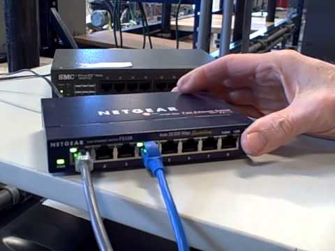 Ethernet hubs versus switches