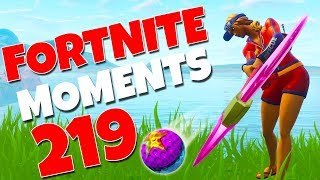 NEW GOLF BAIT STRATEGY!! (NOOBS FALL FOR IT!) | Fortnite Funny Moments 219