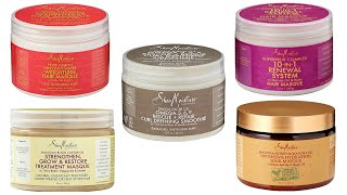 Battle Of Shea Moisture Deep Conditioners | BEST Shea Moisture Deep Conditioner REVEALED