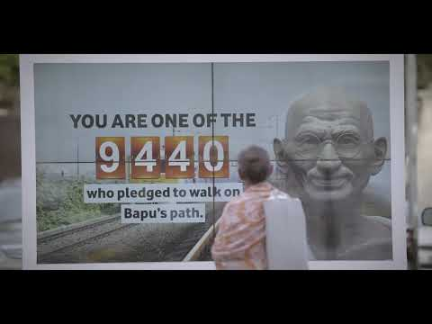A Tata Salt innovation in Mumbai marks Gandhi Jayanti