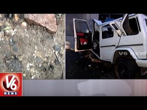AP Minister Narayana's Son, Friend Killed In Car Accident   Live Updates From Accident Spot   V6News
