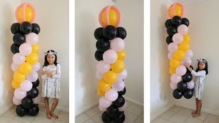 3 Colors Balloon Column Without Stand