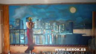 Aprende a hacer graffiti mural paso a paso