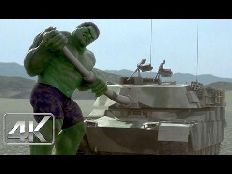 Hulk Vs Tanques | LATINO 4k (Ultra-HD) | Hulk (2003)