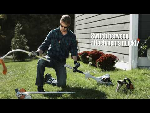 Stihl KM 131 R KombiMotor in Calmar, Iowa - Video 1