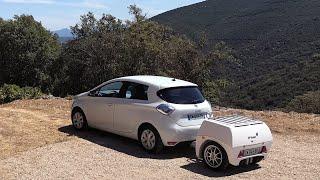 Новые прицепы - пауэрбанки для электрических автомобилей | Новые изобретения 2020