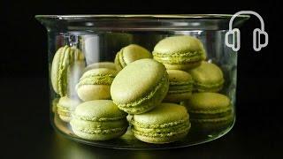 Matcha Green Tea Macarons Recipe 抹茶のマカロンの作り方