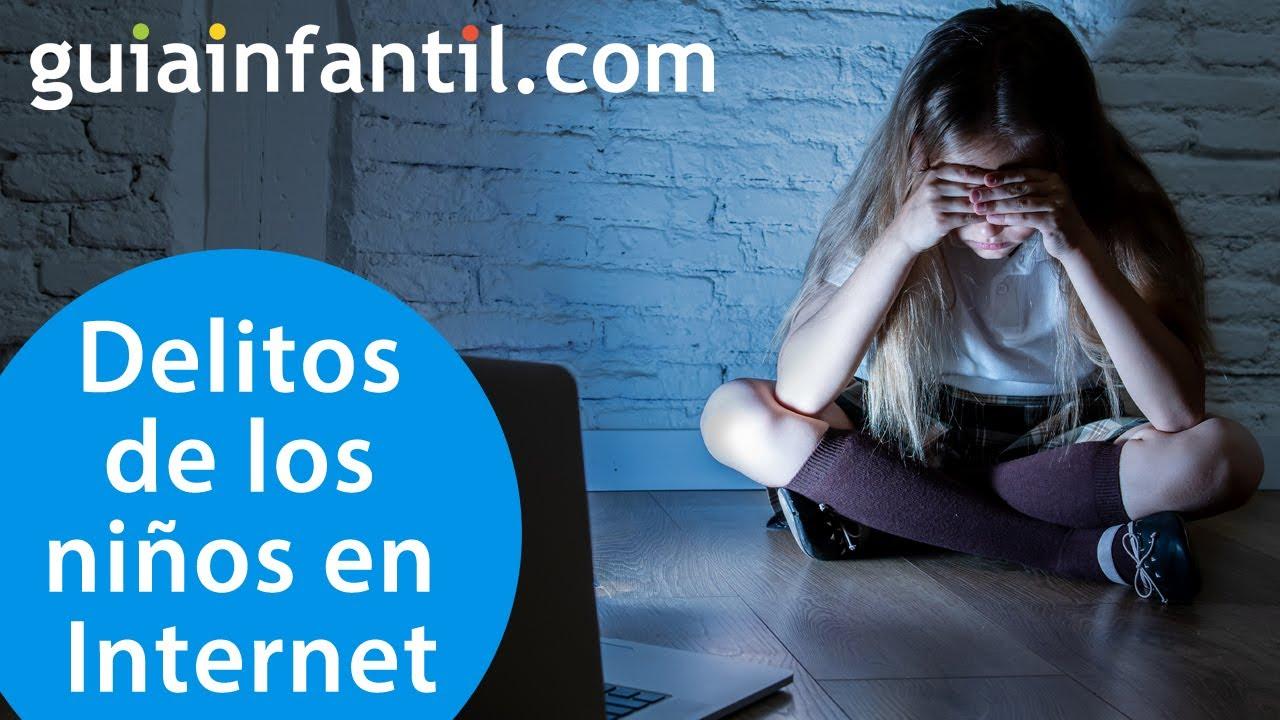 Delitos que los niños pueden cometer en Internet | #ConectaConTuHijo